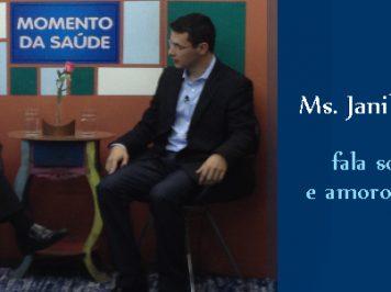 Assista – Psicólogo e Psicanalista de Varginha Janilton concede entrevista ao Momento Saúde