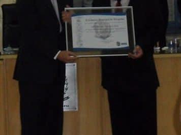 Luciano Elia recebe homenagem em Varginha