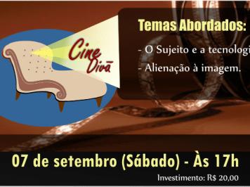 Cine Divã Edição Especial – Neste sábado, dia 07