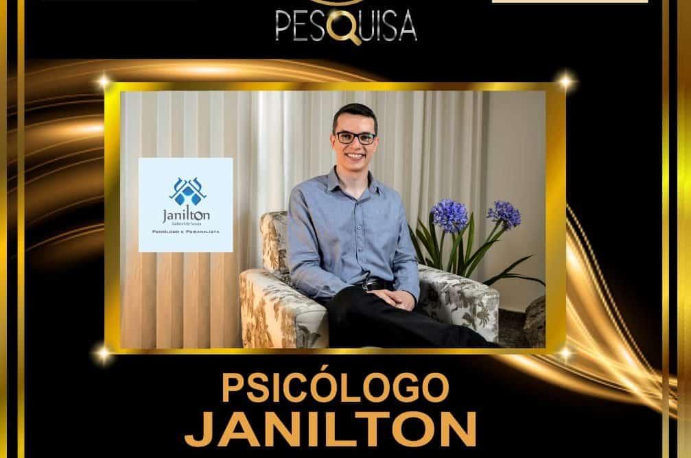 Pesquisa aponta Janilton como psicólogo e psicanalista mais lembrado em 2020