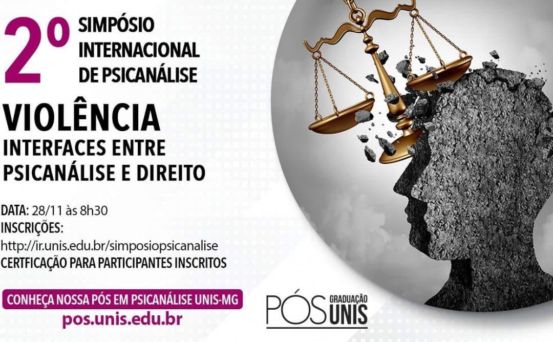 [Evento] 2º Simpósio Internacional de Psicanálise: Violências – Interfaces entre Psicanálise e Direito