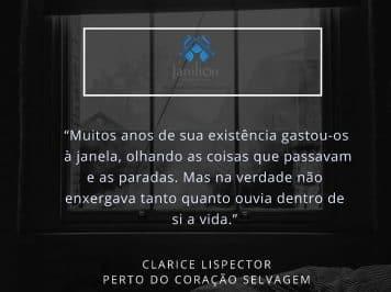 [NO DIVÃ] Janela – Clarice Lispector